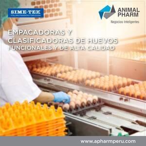 EMPACADORAS Y CLASIFICADORAS DE HUEVOS - SIME-TEK