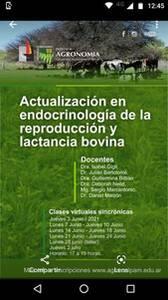 Curso de posgrado sobre actualización en endocrnología de la reproducción y lactancia