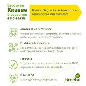 Escolher Krabbe é escolher Eficiência