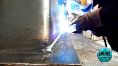 Fabricación de transición en Acero al carbón.
