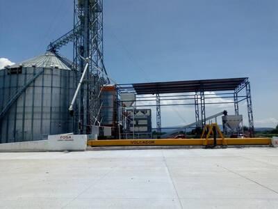 instacion con silo de 5,000Tn y cribadora
