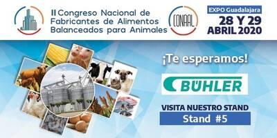 Bühler presente en el II Congreso Nacional de Fabricantes de Alimentos Blanceados para Animales.