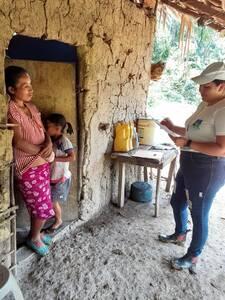 censo pecuario en las comunidades de San Juan Ermita Chiquimula Guatemala