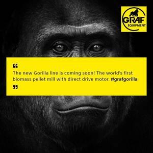 La Peletizadora Gorila estará disponible pronto