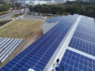 Proyecto Integral Fotovoltaico y termico para COMFOSA