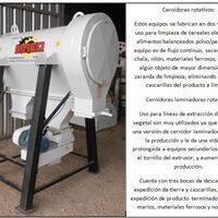 CERNIDORES ROTATIVOS, CERNIDORES LAMINADORES DE OLEAGINOSAS
