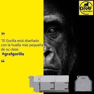 Peletizadora Gorilla, diseñada en un tamaño ideal