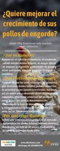 Quiere mejorar el crecimiento de los pollos de engorde?