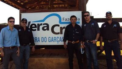 PRESENÇA DA EQUIPE NO LEILÃO DA FAZENDA VERA CRUZ EM BARRA DO GARÇAS-MT.