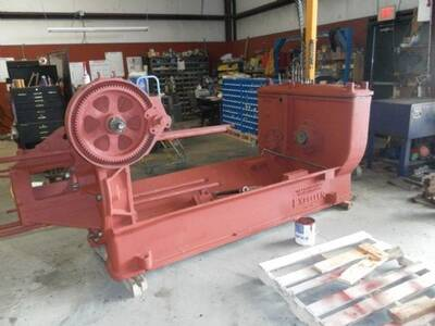 Expeller Press Duo 55 in Rebuilding Process