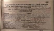 Lechones destetados alimentados con stevia, Jaqueline Bereterbide (UnLu)