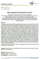 Ocratoxina A en alimentos: Informe actualizado de EFSA