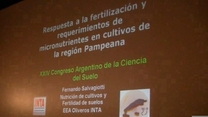 Fertilización de cultivos: Micronutrientes. Fernando Salvagiotti