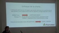 Utilización de alfalfa y aprovechamiento de gramíneas