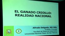 El ganado criollo: Realidad Nacional