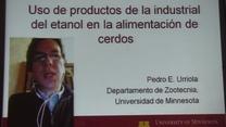 DDG's en la alimentación porcina, Pedro Urriola en TodoCerdos 2014
