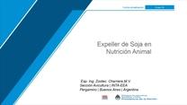 Expeller de Soja en la Nutrición Animal