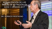 Nutrivec - Rostagno: Tablas de Nutrición en aves y cerdos 2017