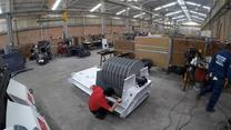 Molino de martillos Metalteco - Proceso de ensamble
