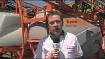 Pulverizacion de arroz - Jacto Airbus 3000