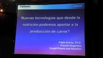 Producción de Carne: Nuevas tecnologías desde la nutrición