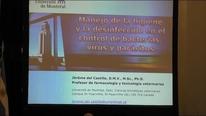 Bacterias, virus y parásitos en al Piara, Desinfección e Higiene.  Dr. Jérôme del Castillo