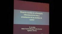 Bronquitis infecciosa: Situación mundial y medidas de control. Dr. Aris Malo