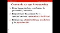 Optimizar la nutrición avícola: Dr. Edgar Oviedo
