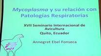Micoplasma y su relación con patologías respiratorias, Annegret Fonseca
