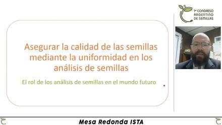 Primer Congreso Argentino de Semillas - Modalidad: Virtual