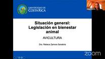 Legislación mundial de Bienestar Animal: Dra. Rebeca Zamora