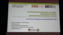 Los Inmunomodulantes y la intervención nutricIonal. Dr. Rodriguez Lecompte