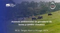Avances Ambientales en Ganadería de Leche y Cambio Climatico