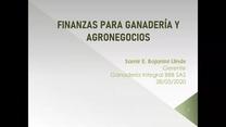 Finanzas para ganadería y agronegocios