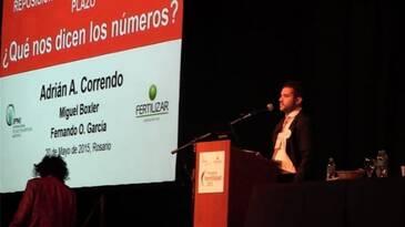 Reposición de nutrientes en el largo plazo, Adrian Correndo en Fertilidad 2015
