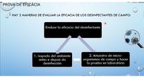 Cómo evaluar la eficacia de un desinfectante en campo