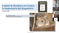 Control de roedores en granjas: Marcelo Hoyos