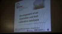 Análisis de suelos en Australia , Base de datos de calibración