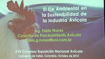 Eje ambiental en sostenibilidad de la industria avícola