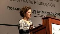 Acidificación del Suelo: Mabel Vázquez en el Simposio Fertilidad 2011