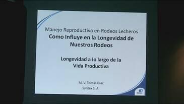 Longevidad en Rodeos Lecheros. Tomás Diaz