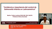 Salmonella Infantis en Latinoamérica: Martha Pulido-Landinez