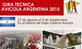 Gira técnica Avicola Argentina Agosto 2015