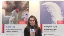 Dupont: enzimas, betaína e probióticos para aves e suínos. L. Franco (Gerente Técnica do Brasil)