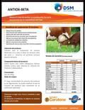 papel de beta_caroteno en las vacas lecheras