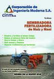 Sembradora - Fertilizador de maíz y maní