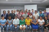 Curso sobre desarrollo de la Producción Apicola con lideres de la Zona Oriental