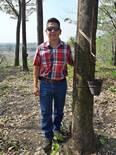 Marcaje de paneles de hule en Guatemala