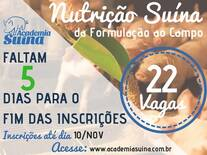 Nutrição Suína: da formulação ao campo