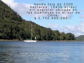 Vendo Isla en el sur de Chile